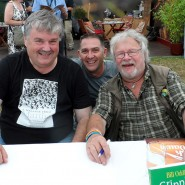Dr Mark Avery with Ornithologist Bill Oddie