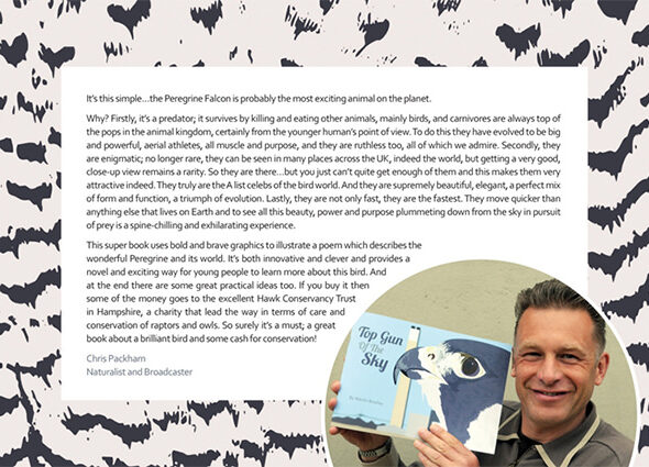 Top Gun of the Sky – Foreword from Chris Packham