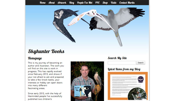 Skyhunter Books new website