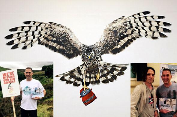 Turner Prize winner meets Skydancer