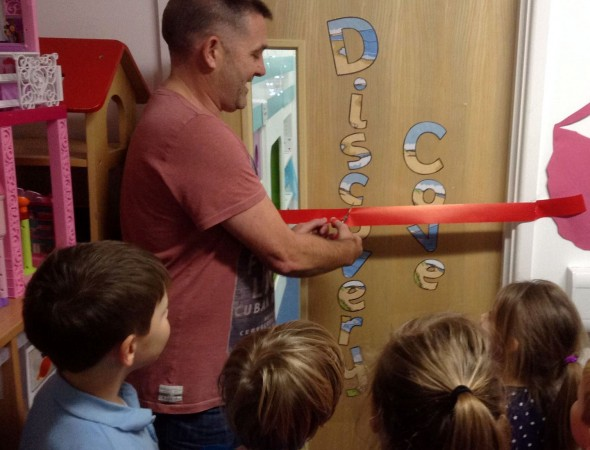 Discovery Cove opened at Fawley Primary School