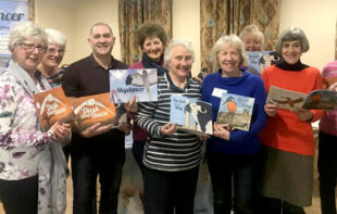 Romsey ladies support skyhunterbooks