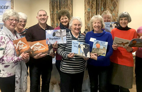 Romsey ladies support skyhunterbooks